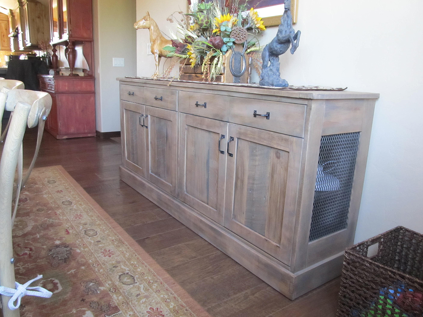 bend dining room furniture grade cabinetry