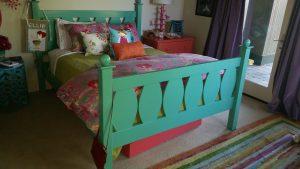 sister oregon wood bed custom wood worker