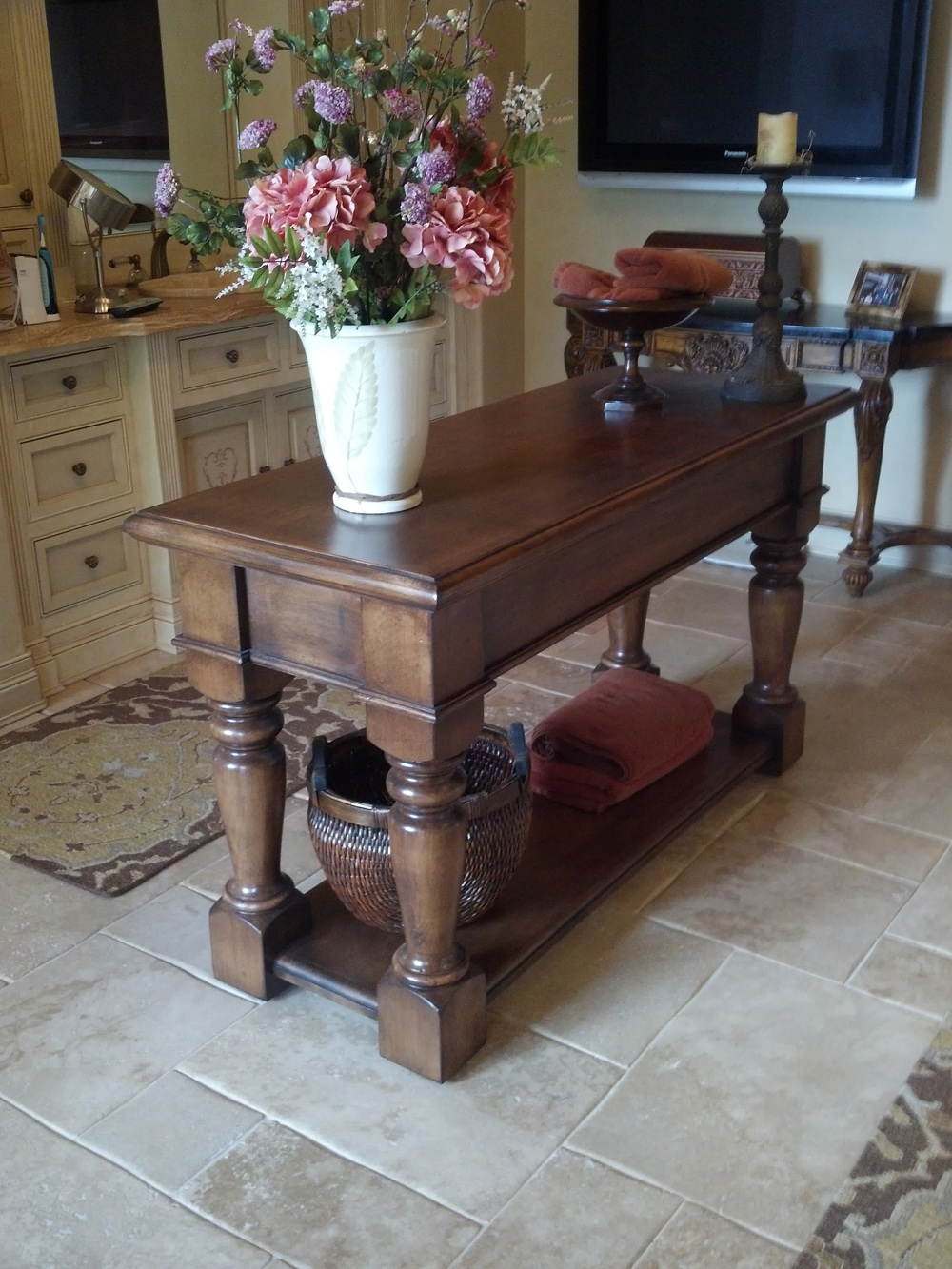 handcrafted traditional wood furniture in central oregon