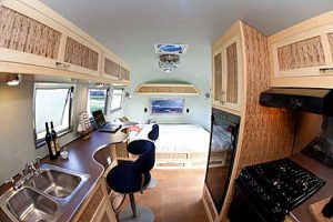 bend oregon handcrafted Airstream restoration and cabinetry
