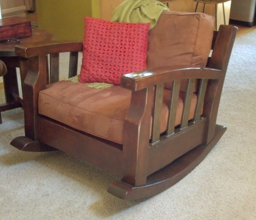 custom rocking chair living room furniture maker
