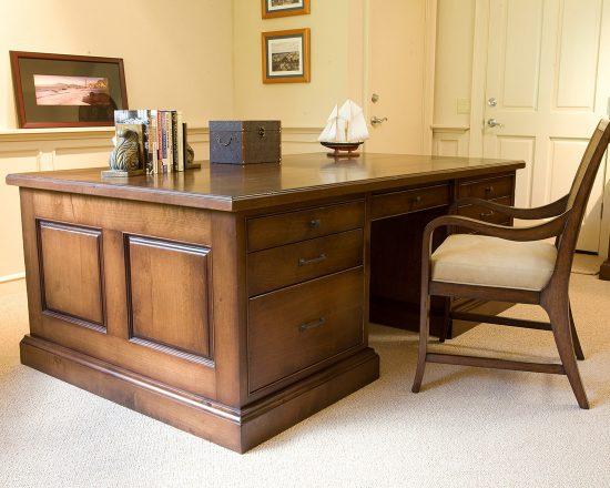 wood desks office furniture